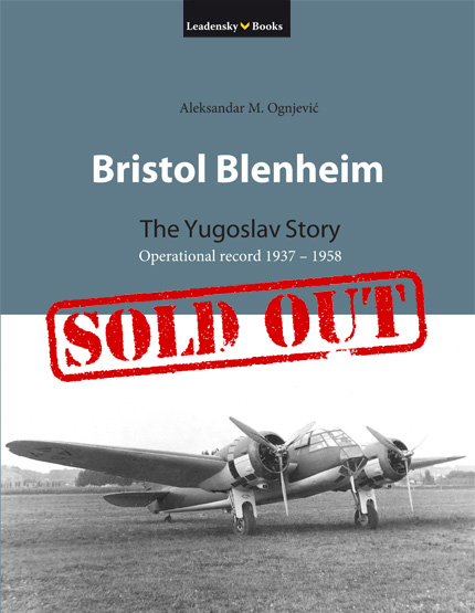 Bristol Blenheim The Yugoslav Story the book